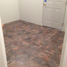 Mud room tile ...