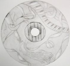 Intaglio Prints using a cd. Students used old CDs as their dry point printing plate and made an edition of prints. - too bad students these days are going to grow up not knowing what a cd is for. Cd Art, Book Art, Middle School Art, High School, Art Lesson Plans, Art Classroom, Art Portfolio, Heart Art, Art Club