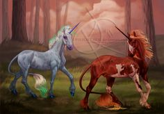 Rille+and+Boreal+by+Twilight-Veil.deviantart.com+on+@DeviantArt