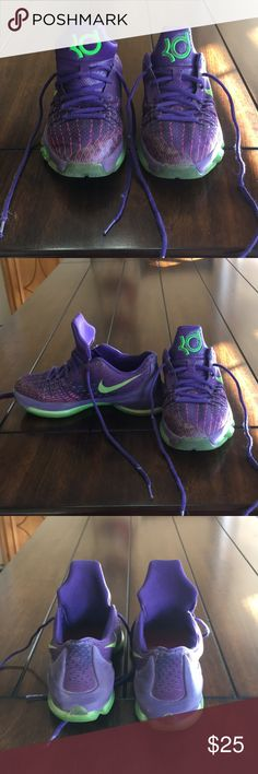 KD Youth Tennis Shoes KD Tennis Shoes. Youth Size 4.5. In good used condition. Nike KD Shoes Sneakers