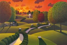 Paul Corfield - Changing Colours, Artmarket Contemporary Art Gallery