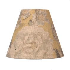 Classic Candle Shade in Gold Emma Linen