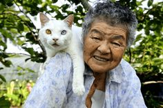 Grandmother and Her Cat