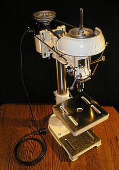 Delta Manufacturing Co. - Model No 1302 Slo-Speed Drill Press