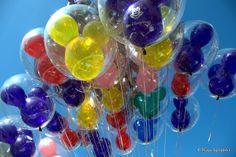 disney balloons, via flickr