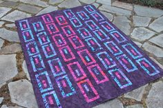 (7) Name: 'Quilting : Bamboo Shoots Quilt