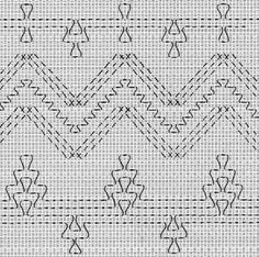 Cross Stitch Patterns, Needlepoint charts and more at AllCrafts! Embroidery Patterns, Cross Stitch Patterns, Hand Embroidery, Types Of Embroidery, Free Swedish Weaving Patterns, Swedish Embroidery, Monks Cloth, Weaving Techniques, Cross Stitching