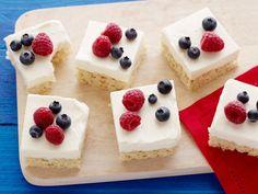 Crispy-Treat Cheesecake Bars Recipe : Food Network Kitchen : Food Network