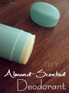Homemade deodorant recipe! This is easy to make and all-natural! No aluminum in this deodorant!