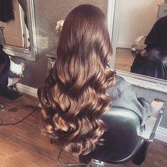 #hair goals #long #wavy