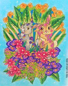 book : Disney Love Stories coloring by l'éclat des couleurs par solveig