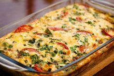 Das Zucchini-Tomaten-Gratin schmeckt einfach herrlich. #gratin #auflauf #zucchini #tomaten