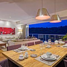 Salle à manger moderne par lee+mir moderne | homify Living Comedor, Dining Table, Table Decorations, Furniture, Home Decor, Dining Rooms, Architects, Parks, Kitchens