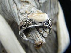 elk teeth ring Antler Jewelry, Pearl Jewelry, Jewelery, Tooth Jewelry, Elk Ivory, Hunting Girls, Trophy Wife, Gold Watch, Bling Bling