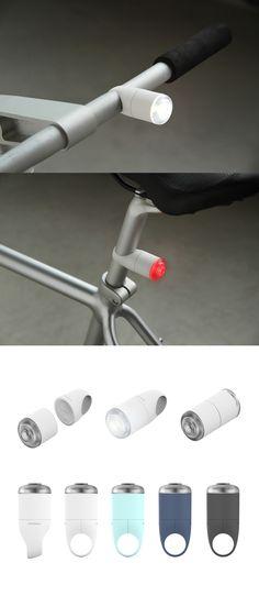 iFlash magnetic bicycle lights | kibisi