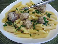 Penne, Potato Salad, Potatoes, Meat, Chicken, Ethnic Recipes, Food, Potato, Essen