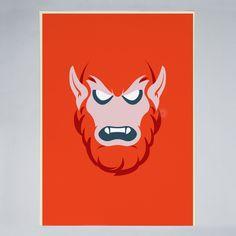 Bruno Morphet - Beast Man - Poster