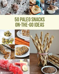 50 Paleo Snacks on-the-go Ideas
