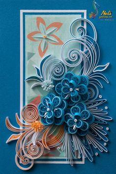 Neli Quilling Art: Quilling card