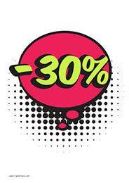 30% Descuento #Rebajas #Ofertas #Descuento