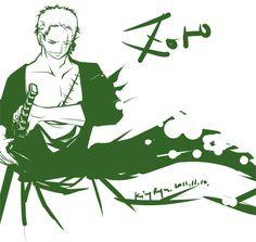 happy birthday zoro by kingryuuzaki