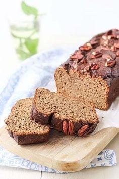 glutenvrije ontbijtkoek Healthy Pastry Recipe, Pastry Recipes, Good Healthy Recipes, Healthy Treats, Healthy Baking, Cake Recipes, Healthy Food, Gluten Free Snacks, Foods With Gluten