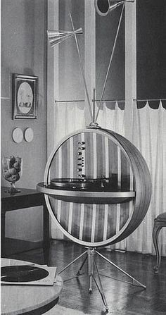 HI-FI Sphere - wow - from the time period aptly named the Atomic Age