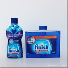 Finish Dishwasher Cleaner and Jet Dry Rinse Agent review Setting for Four