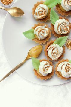 Lemon citron tartlettes
