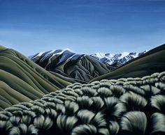 New Zealand artist New Zealand Art, Nz Art, Photo Art, Diana, Contemporary, Landscape, Brochures, Artworks, Paintings