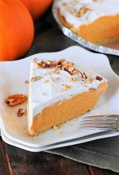 With its creamy filling and how easy it is to prepare, No-Bake Pumpkin Cream Pie will quickly become a seasonal favorite to help you celebrate all those special events {or random Tuesdays} of fall!