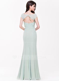 A-Line/Princess Sweetheart Floor-Length Ruffle Zipper Up Cap Straps Sleeveless No Other Colors Spring Summer Fall General Plus Chiffon Bridesmaid Dress Wedding Party Dresses, Bridesmaid Dresses, Prom Dresses, Formal Dresses, Bridesmaids, Special Occasion Dresses, Ruffles, Fashion Dresses, Chiffon