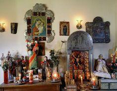 Marie Romero Cash, personal shrine by Siegfried Halus