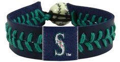 Seattle Mariners Baseball Bracelet - Team Color Style