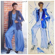 Denim Jumper Tasseled Blazer  Houston Style blogger  AuthenticallyB.com  IG: authentically.b jaided325 boutique