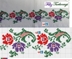 This Pin was discovered by Arz Cross Stitch Bookmarks, Cross Stitch Rose, Cross Stitch Borders, Cross Stitch Flowers, Cross Stitch Charts, Cross Stitch Designs, Cross Stitching, Cross Stitch Embroidery, Embroidery Patterns