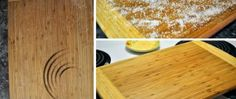 Jablečné řezy FANTAZIE | NejRecept.cz Butcher Block Cutting Board, Bamboo Cutting Board, Repurposed, Recycling, Herbs, Health, Kitchen, Design, Organizing