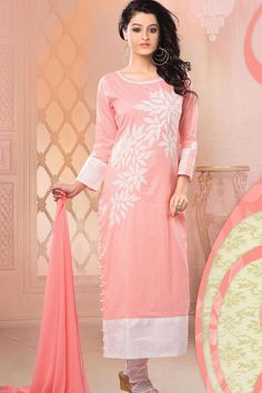 Pazaar Oviya Casual Churidar Kameez For Women