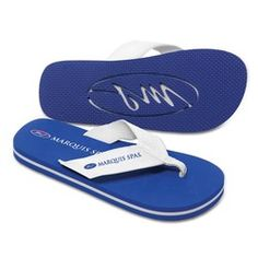 Malibu Surf Style Flip Flop with Fabric-Lined Straps