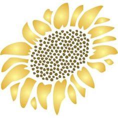 sunflower stencils printable | 95 best images about Stencil Patterns on Pinterest ...
