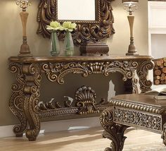 Beige Living Rooms, Formal Living Rooms, Living Room Sets, Living Room Decor, Console Table, Dining Table, Dining Room Furniture, Furniture Design, Chenille