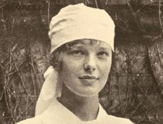 Amelia Earhart, aviation pioneer, studied in Toronto with the Canadian Red Cross after WWI. And Kansas native ;)