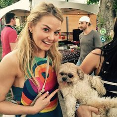 jenmorrisonlive : I made friends with the one and only @marniethedog backstage at #coachella2015