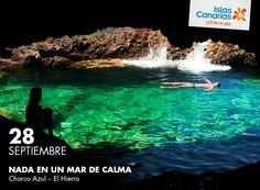 Ese mar está en #ElHierro... ¡Feliz lunes!   #IslasCanarias365