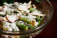 Fresh Balsamic Asparagus Salad Recipe - by Julesong.  A very popular salad to take to gatherings!