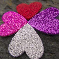 Valentine's Day Cards | @FairMail - Fair Trade Cards | Sparkly Hearts Valentine Day Cards, Fair Trade, Hearts, Valentine Ecards