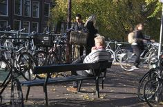 Canalside Contemplation photo | 23 Photos Of Amsterdam