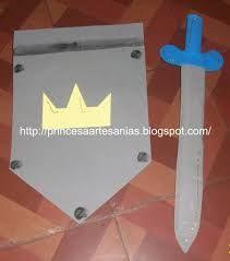espadas y escudos para niños - Google Search