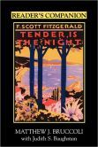 Reader's Companion To F. Scott Fitgerald's Tender Is The Night Tender Is The Night, F Scott Fitzgerald, Good Books, Prints, Cards, Caption, Bookcase, Shelf, Films