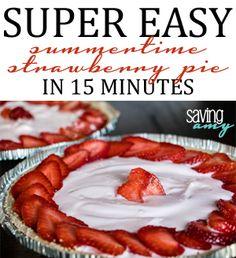 Recipe: Summertime Dessert: Strawberry Yogurt Tart in 15 Minutes #dessert #recipe #strawberries